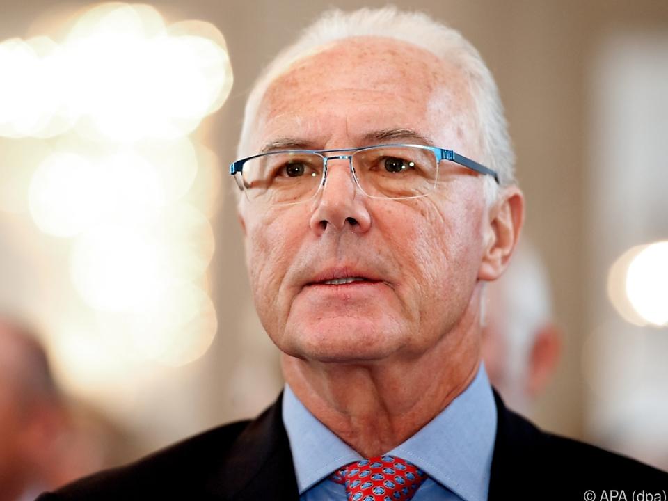 Franz Beckenbauer wird am Freitag 75
