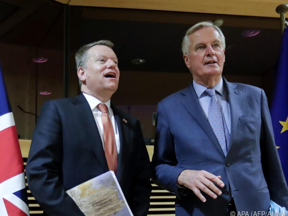 Frost und Barnier haben viel zu besprechen