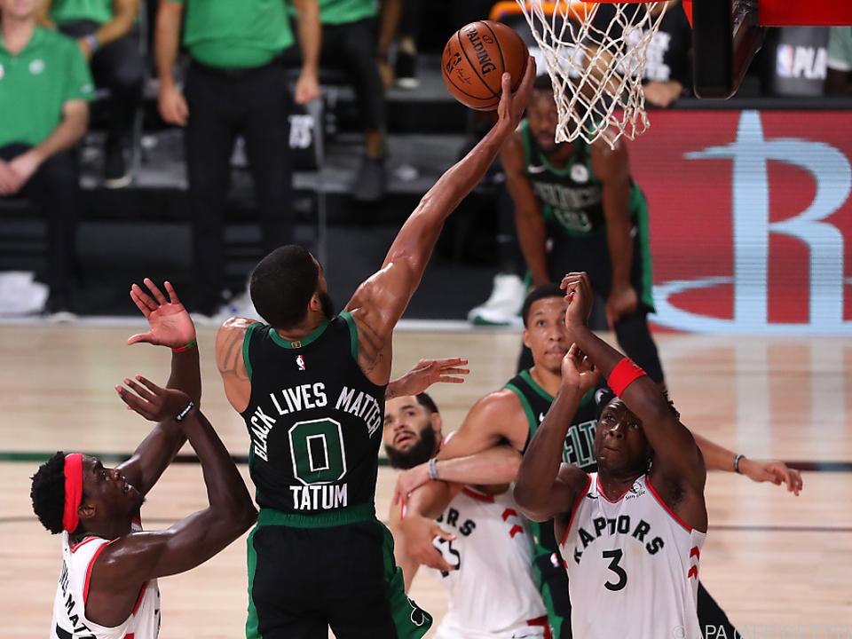 Fünf Punkte Unterschied entschieden zu Gunsten der Celtics