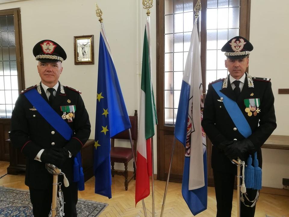 Gen.B Lorenzoni e Gen.B. Cantoni avvicendamento