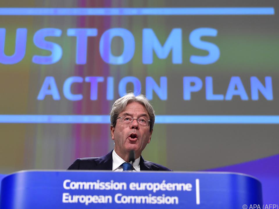Gentiloni präsentierte den Aktionsplan in Brüssel