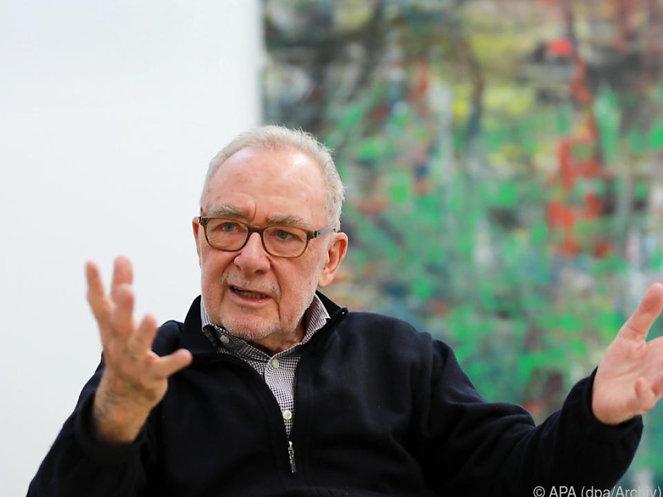 Gerhard Richter malt nicht mehr, sondern zeichnet