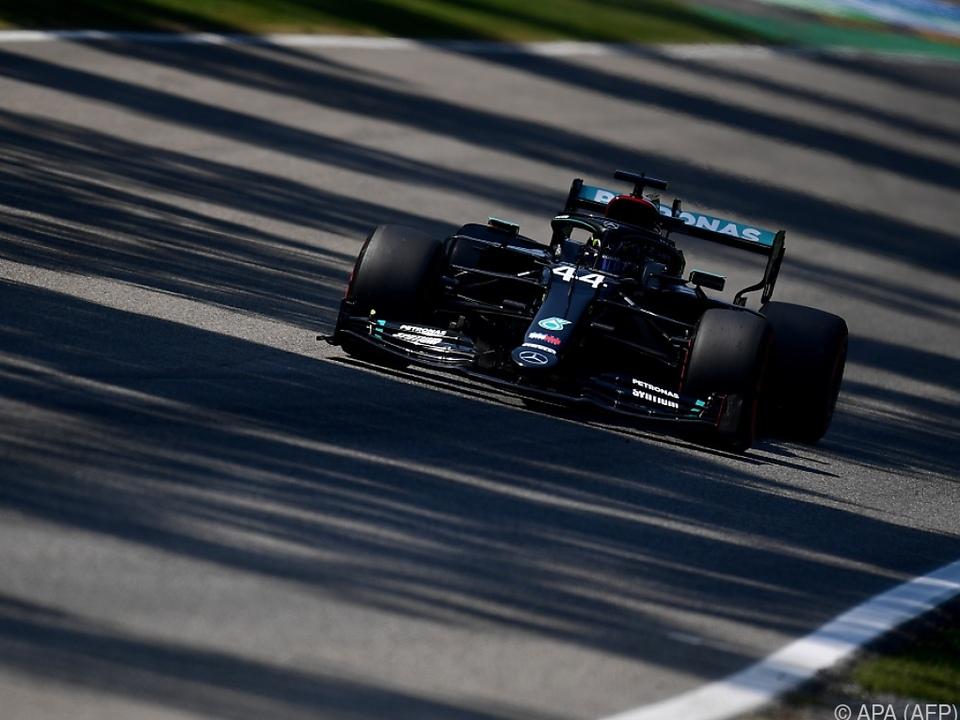 Hamilton fuhr zur 94. Pole Position seiner Karriere