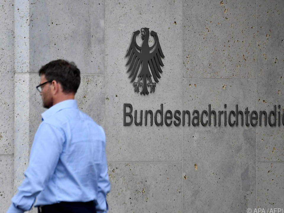 Hauptquartier des Geheimdienstes in Berlin