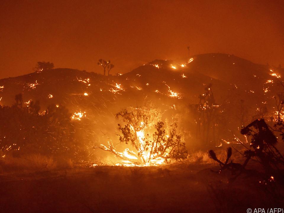 In Kalifornien wüten weiterhin die Flammen