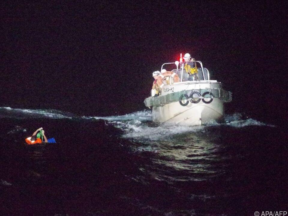 Japanische Küstenwache rettet philippinischen Schiffsoffizier