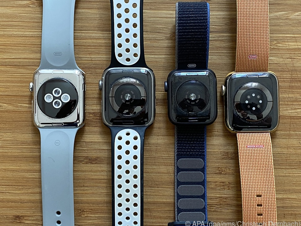 Je nach Ausführung haben die Apple Watches unterschiedliche Sensoren