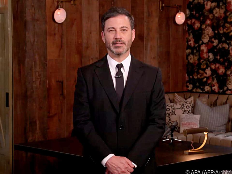 Jimmy Kimmel ganz alleine