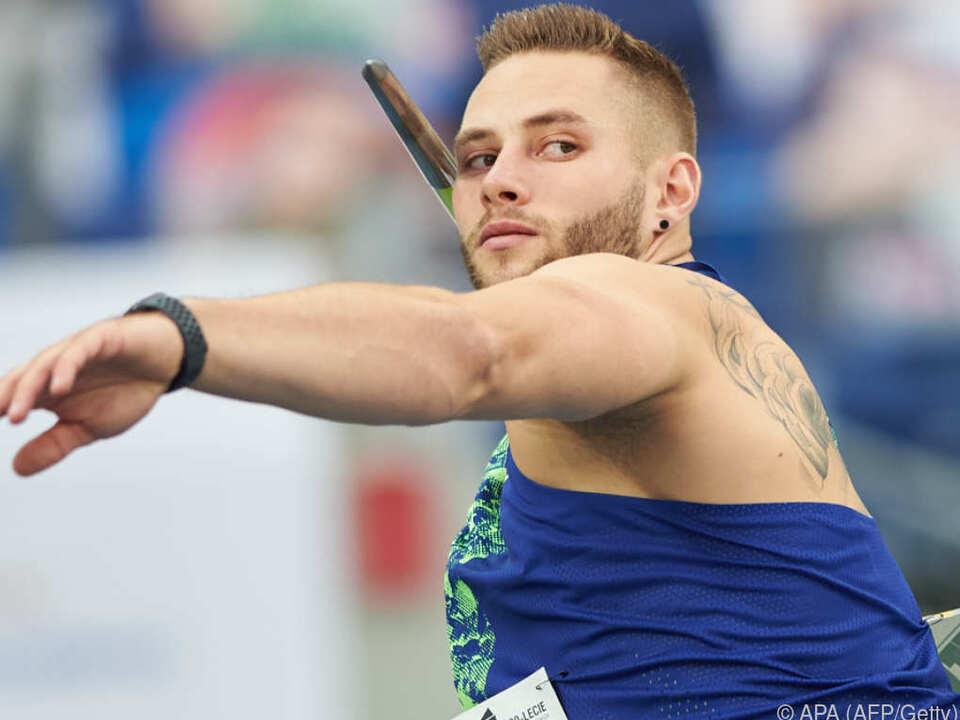 Johannes Vetter schleudert Speer 97,76 Meter