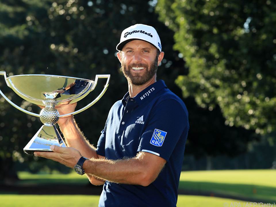 Johnson gewann erstmals das Finale der PGA-Tour