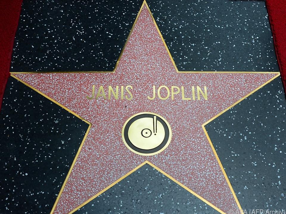Joplin wurde auch am Walk Of Fame geehrt