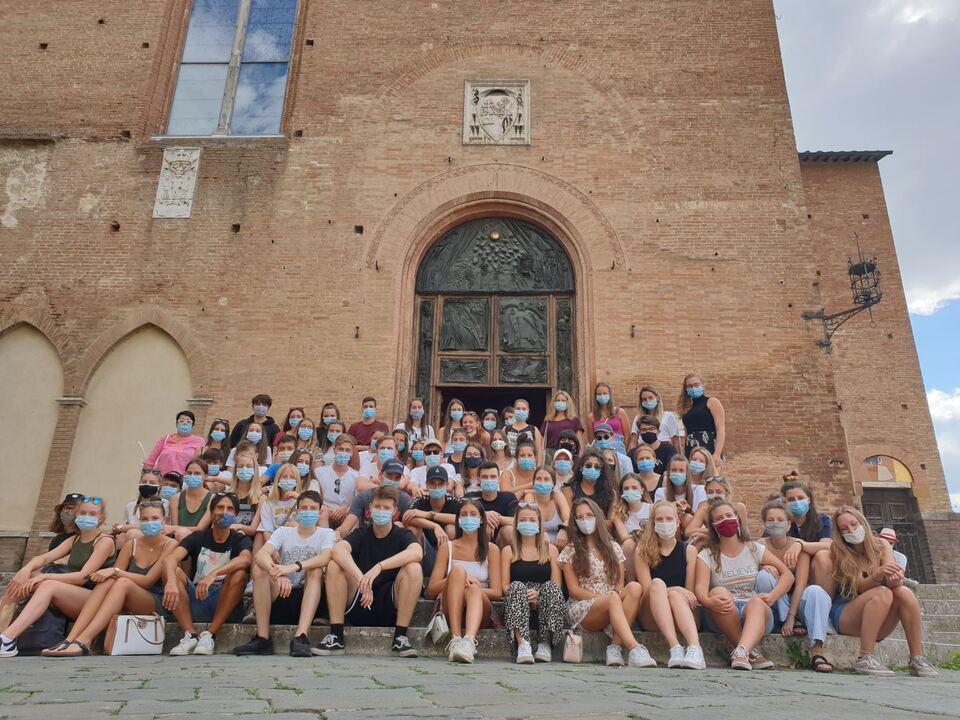 Kaiserhofschüler in Siena 2020