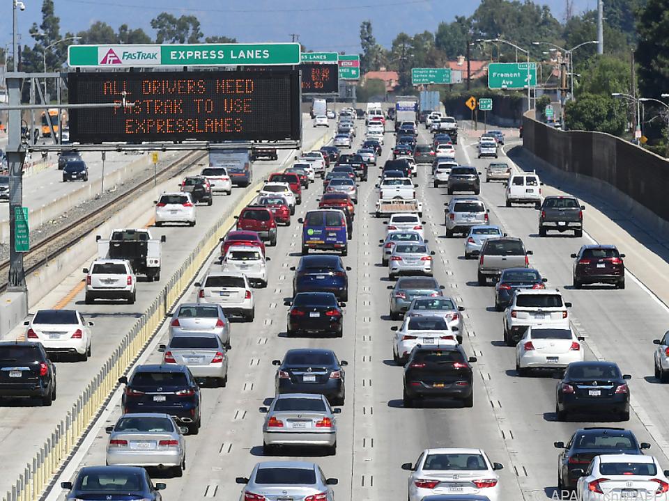 Kalifornien sagt Klimawandel den Kampf an