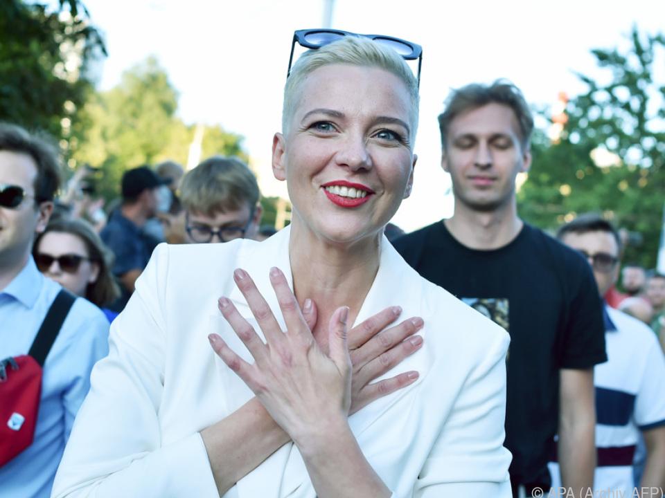 Kolesnikowa sitzt in Untersuchungshaft