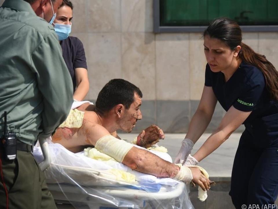 Konflikt mit zahlreichen Verletzten