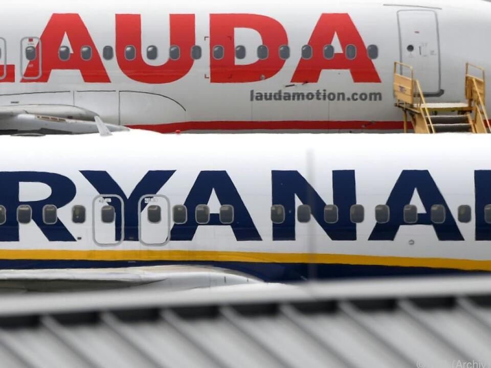 Laudamotion gehört zur irischen Ryanair