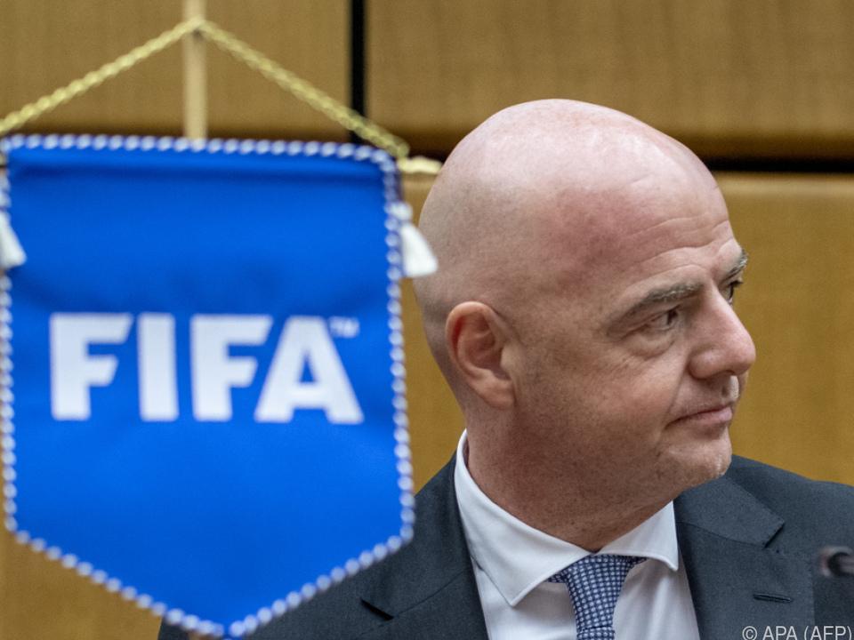 Laut FIFA-Boss Infantino ist nun alles transparent