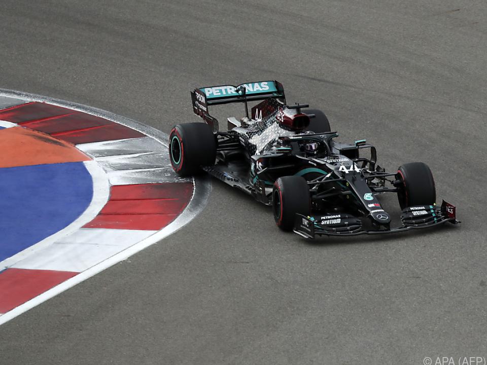 Lewis Hamilton ließ die Konkurrenz hinter sich