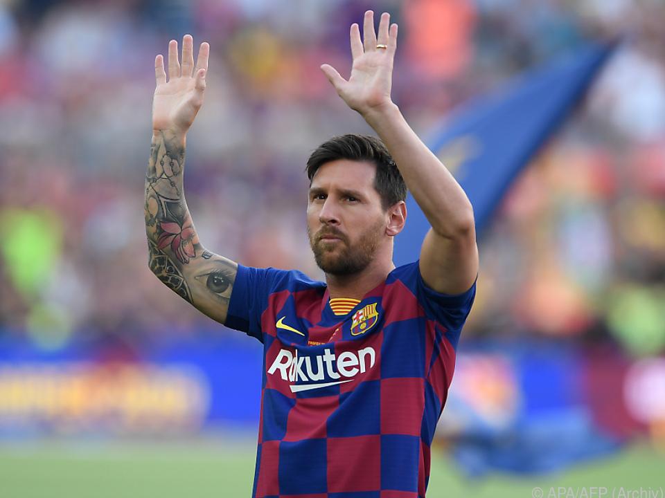 Lionel Messi: Gerade noch weg, jetzt wieder da