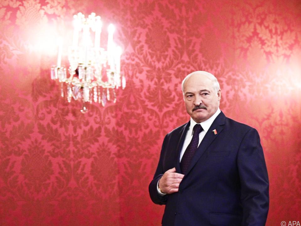 Lukaschenko (hier in Wien) bekommt immer mehr Gegenwind