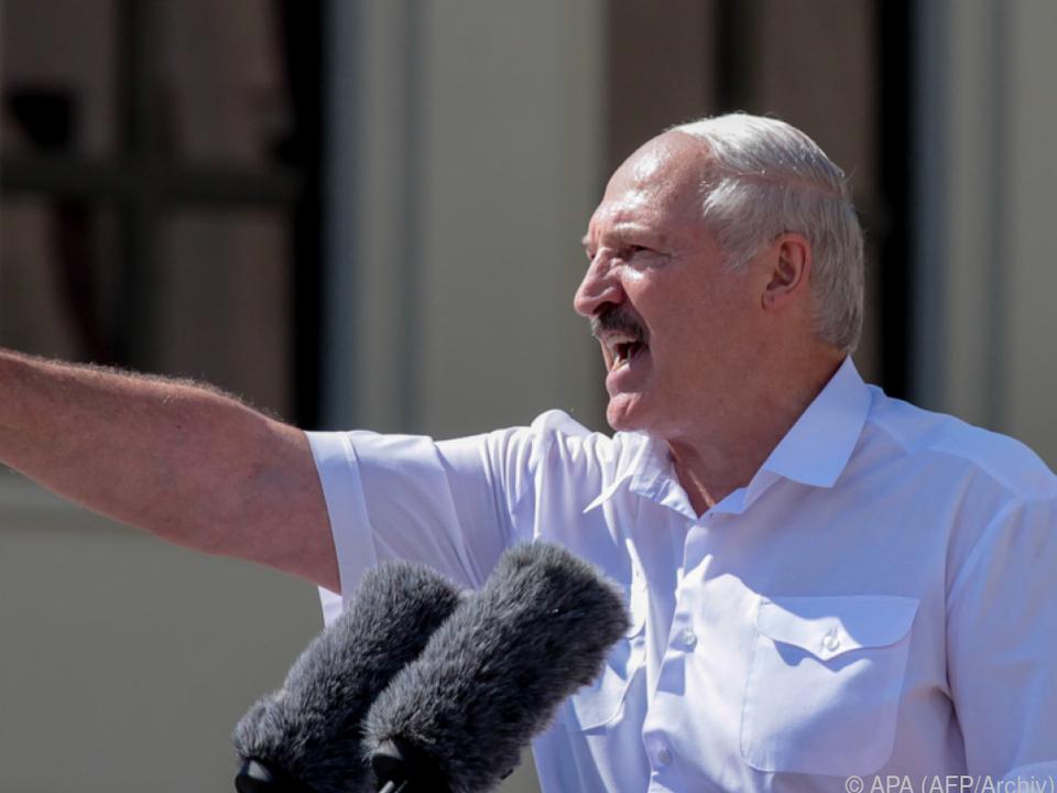 Lukaschenko international isoliert