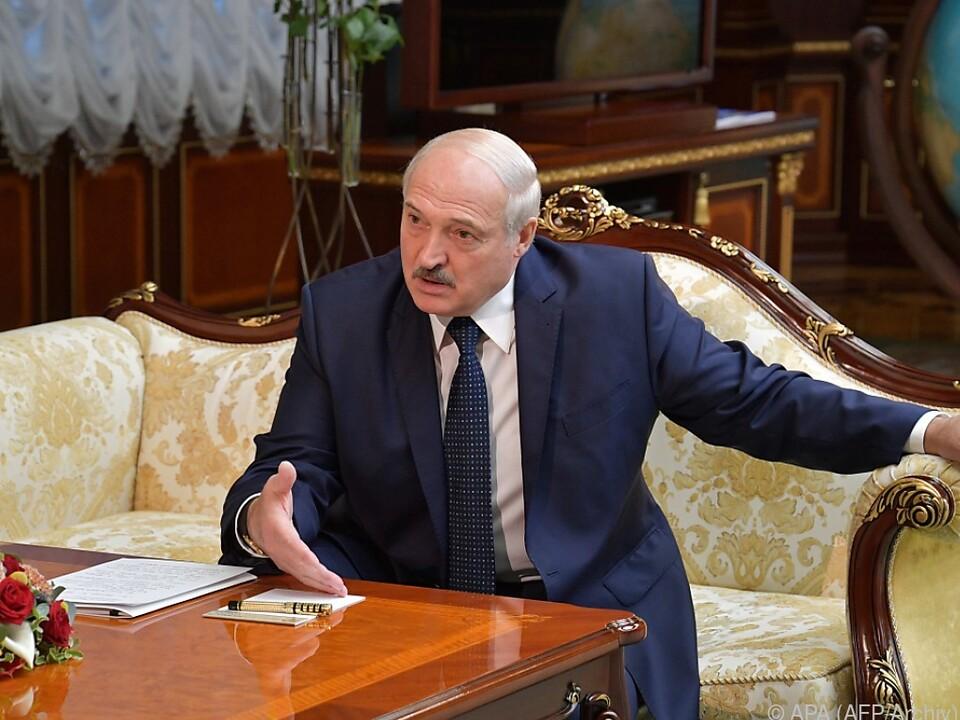 Lukaschenko sieht sich als Beschützer des Staates