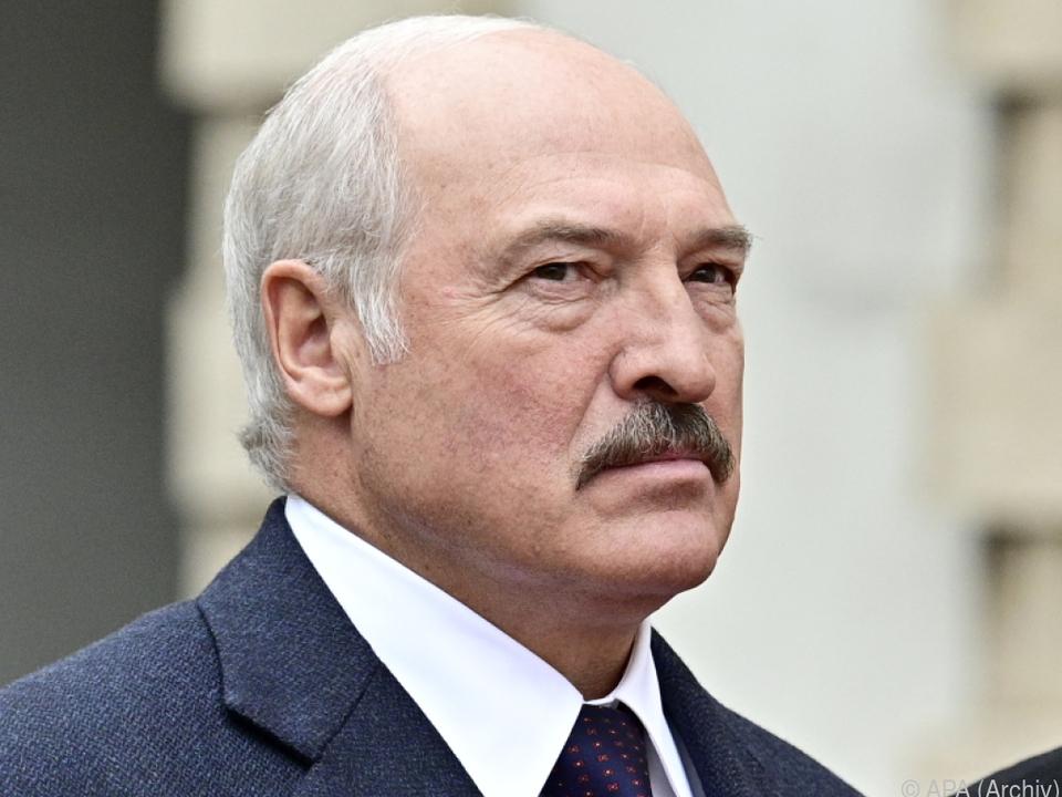 Lukaschenko sieht sich internationaler Kritik ausgesetzt