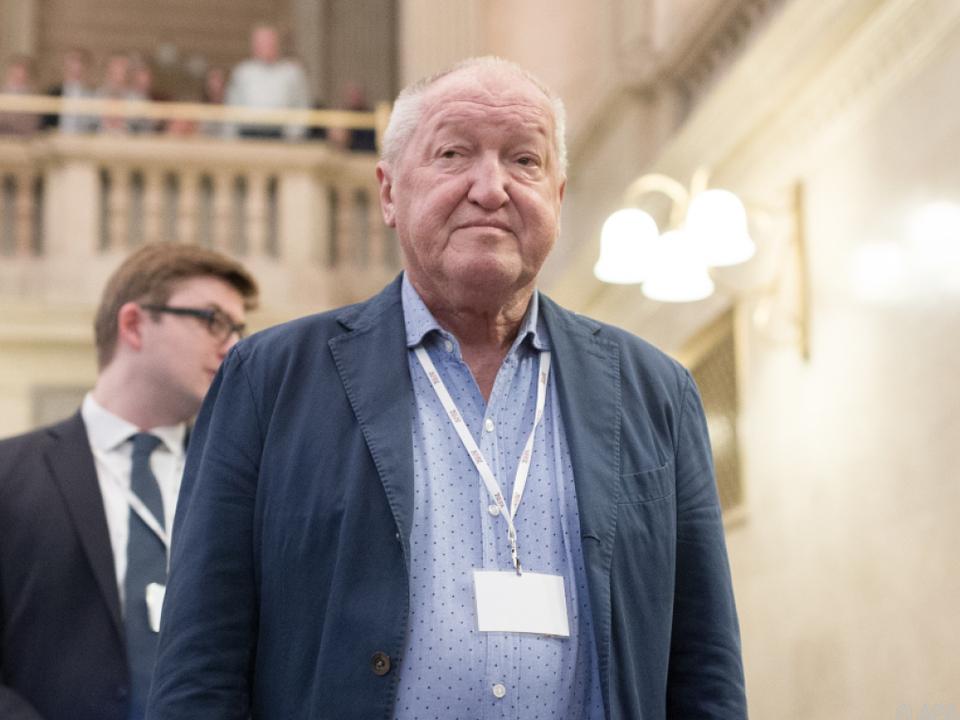 Makler Ernst Karl Plech sieht sich verhandlungsunfähig