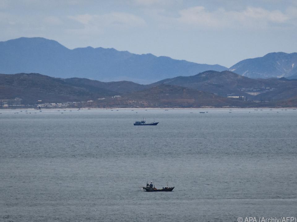 Mann war in nordkoreanisches Gewässer gelangt