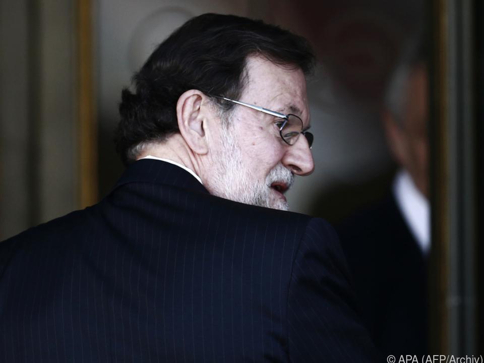 Mariano Rajoy schwer unter Beschuss