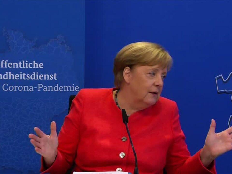Merkel will Gesundheitsämter stärken