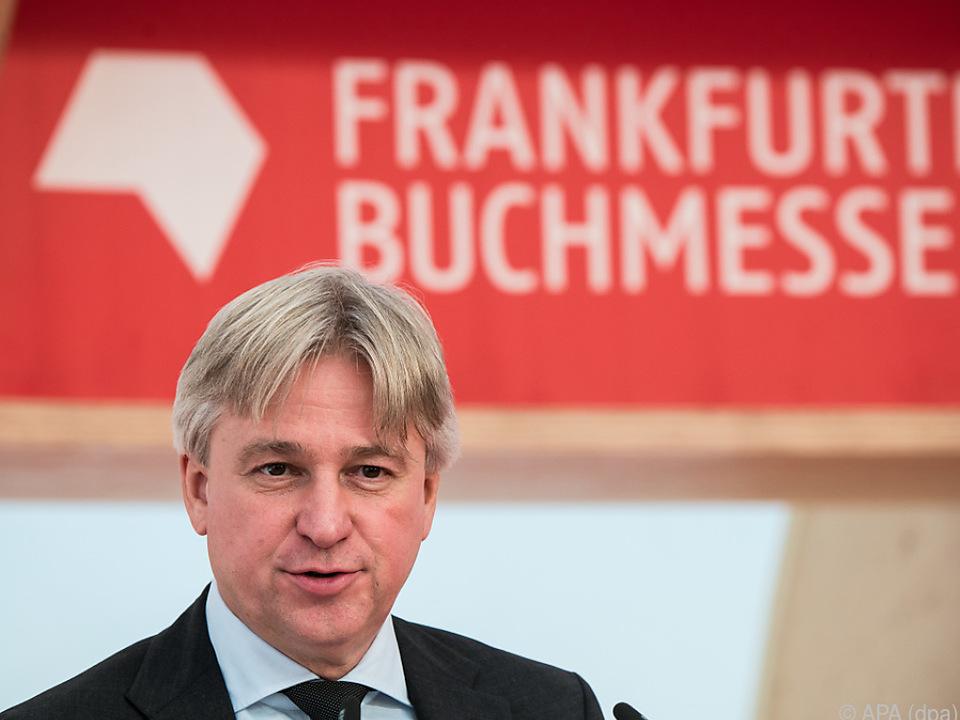 Messe-Direktor Juergen Boos: \