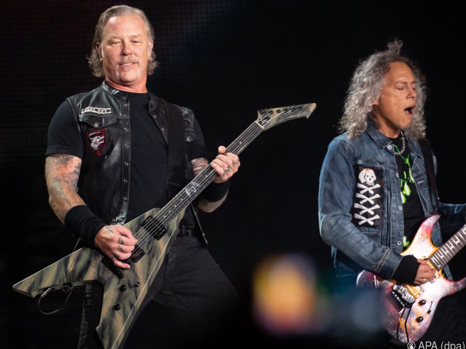 Metallica wollen den Opfern helfen