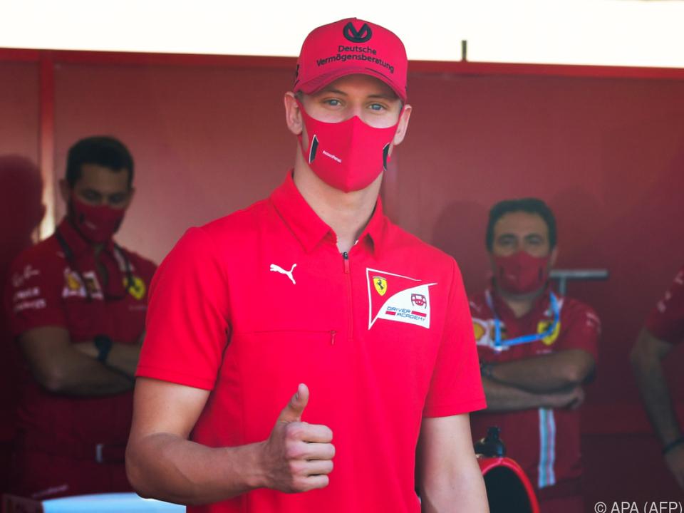 Mick Schumacher auf dem Weg zur Formel 1
