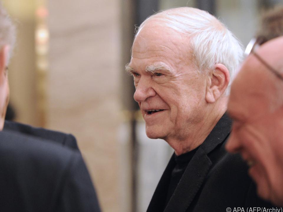 Milan Kundera erhält die Auszeichnung im Oktober