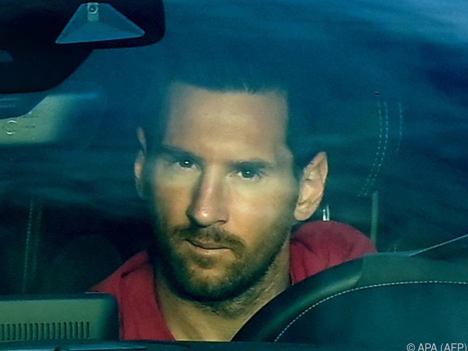 Mit seinen Wechselabsichten sorgte Messi für Negativschlagzeilen