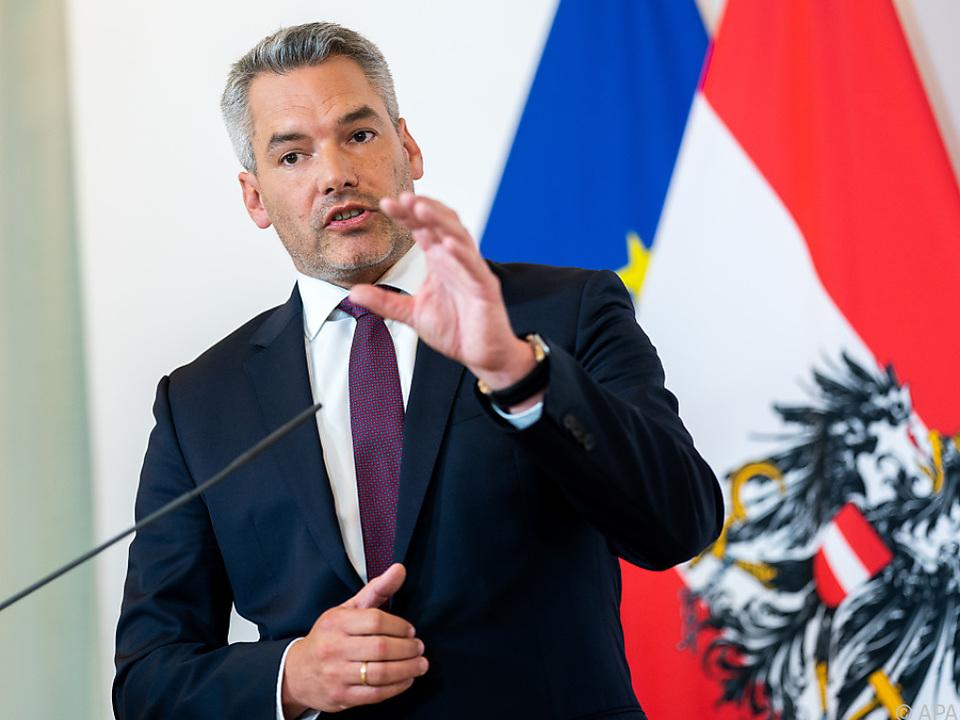 Innenminister Nehammer: Österreich wirft Türkei Spionage vor