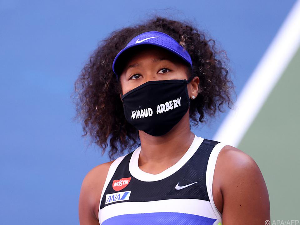 Naomi Osaka erinnerte erneut an ein Rassismus-Opfer