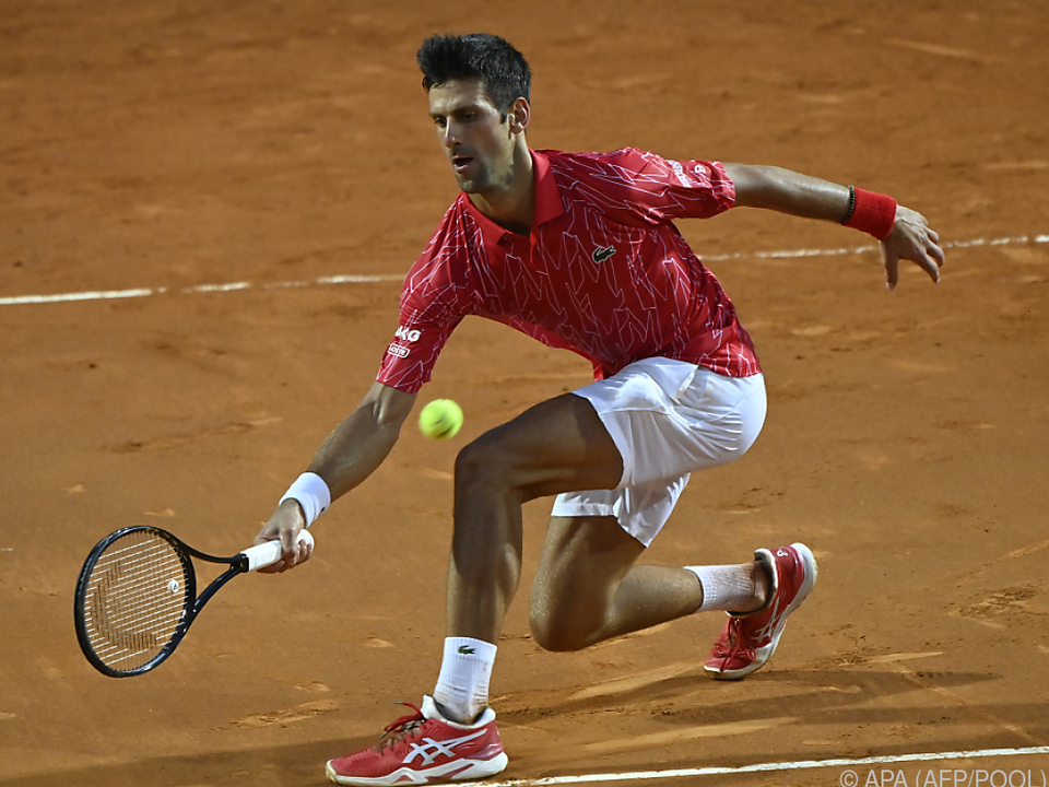 Novak Djokovic stellte einen neune Rekord auf