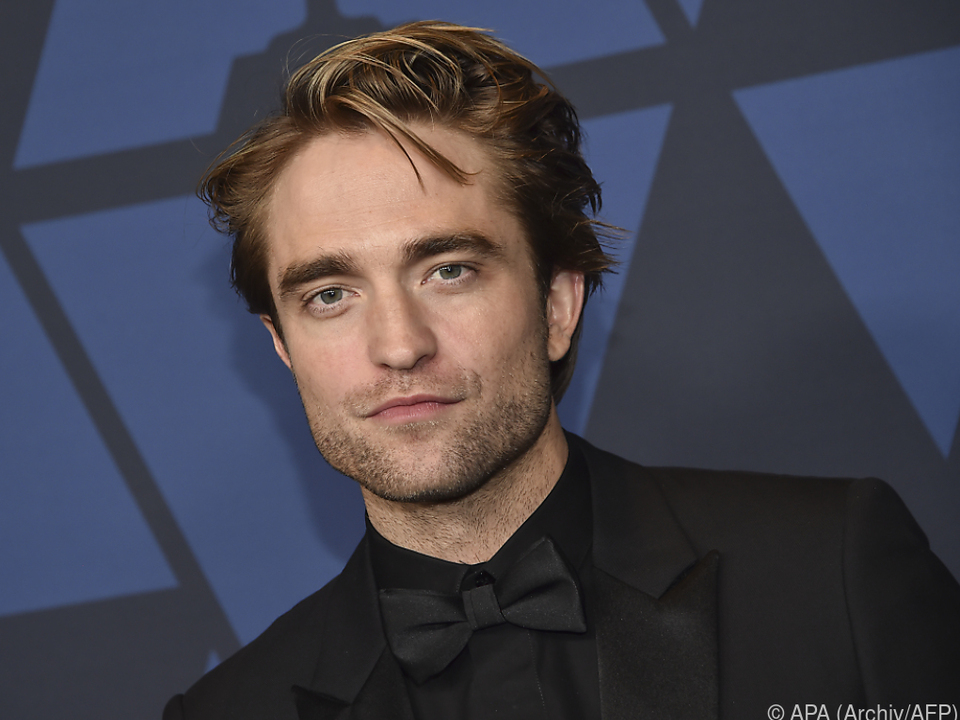 Pattinson dreht in London