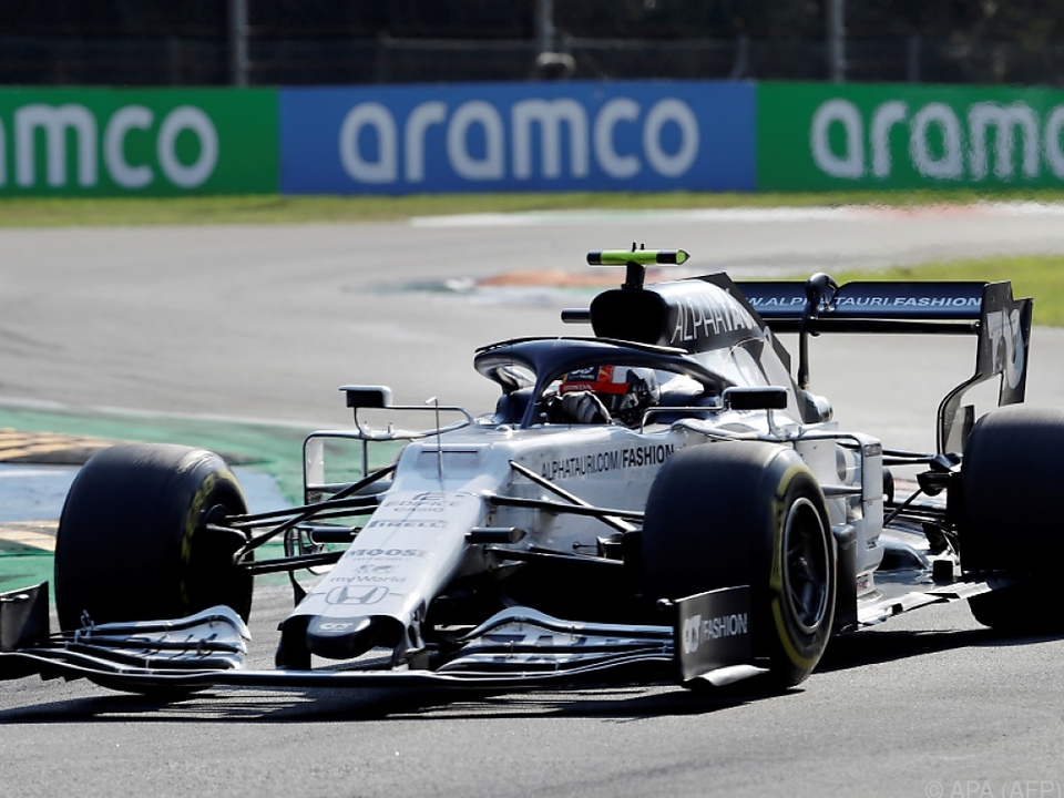Pierre Gasly überraschte in Monza