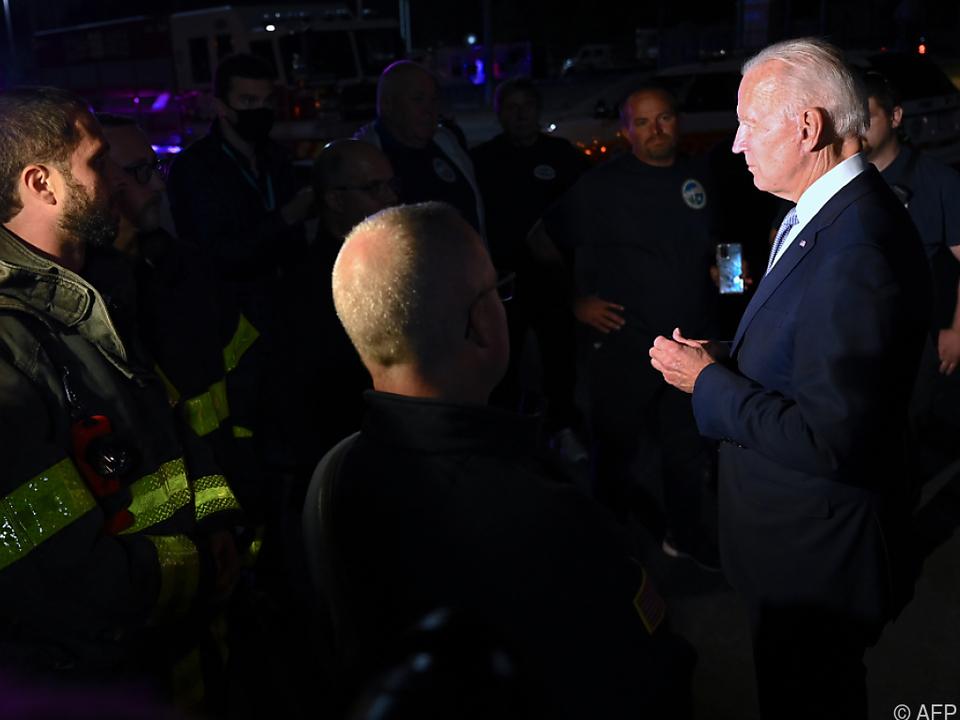 Präsidentschaftskandidat Biden auf Wahlkampftour