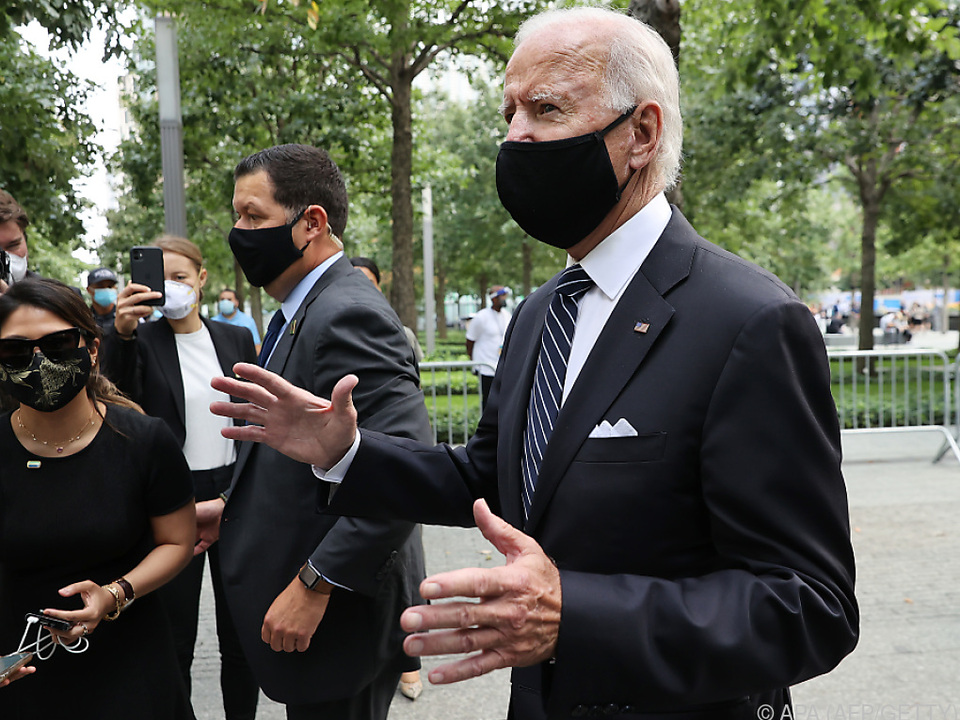 Präsidentschaftskandidat Joe Biden nahm an der Veranstaltung teil