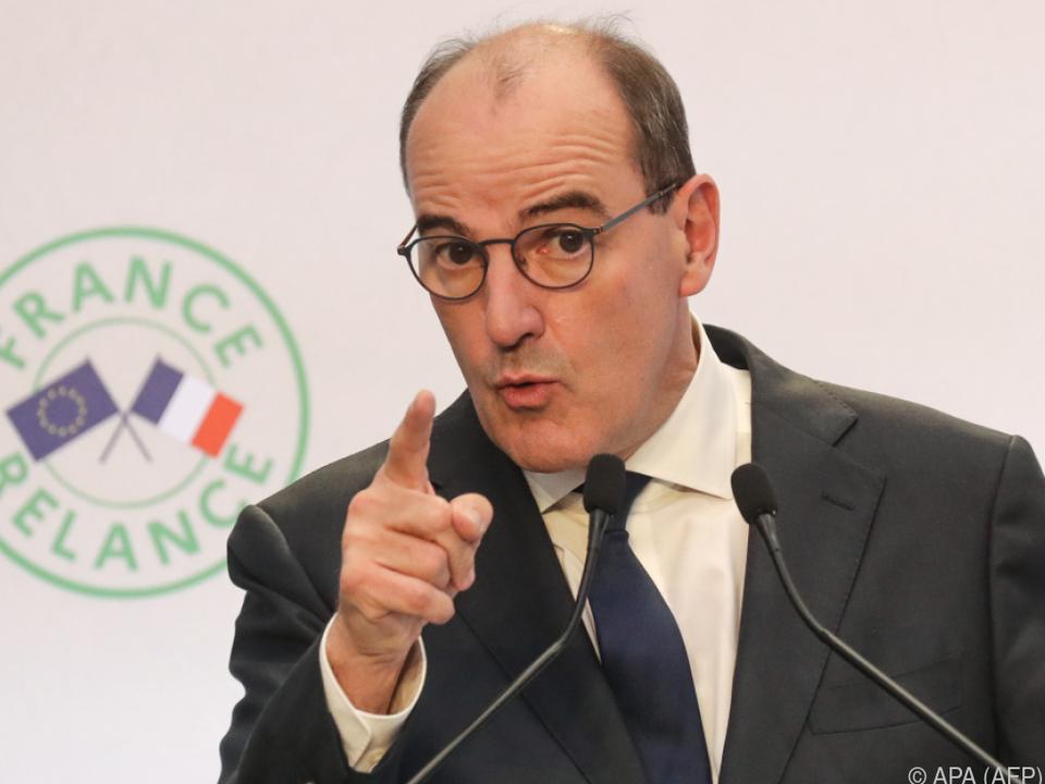 Premier Jean Castex will die Wirtschaft grüner machen