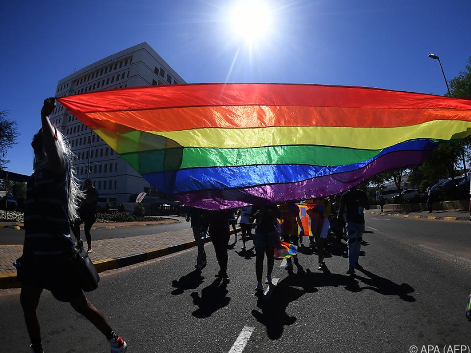 Regenbogen - Toleranzsymbol sexueller Minderheiten