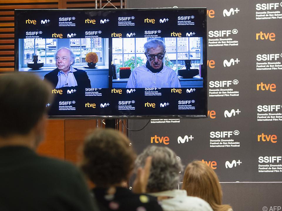 Regisseur Woody Allen kam nicht persönlich nach Spanien