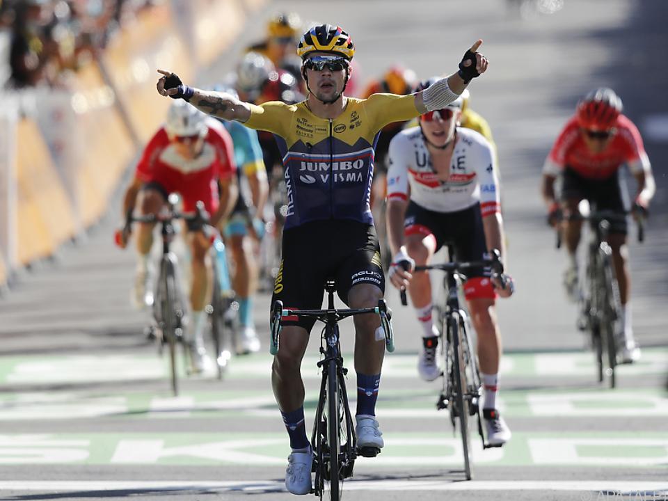 Rolic fuhr als Erster über die Ziellinie der 4. Etappe