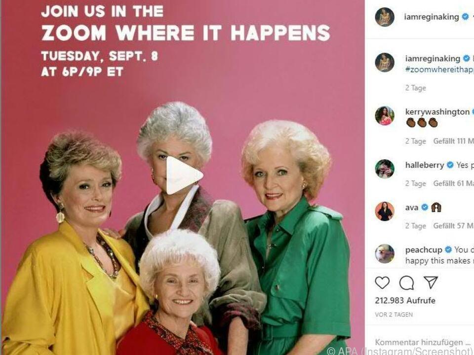 Schauspielerinnen warben auf Instagram für ihren Auftritt