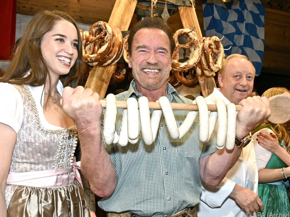 Schwarzenegger ist jahrelanger Weißwurst-Stammgast