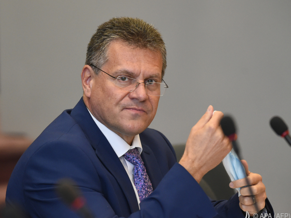 Sefcovic will weiter am Handelspakt arbeiten